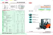 1-2.5t Battery Forklift