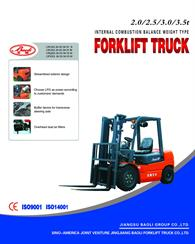 2.0 to 3.5ton Engine Forklift