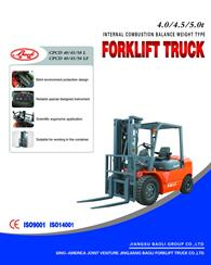 4.0 to 5.0ton Engine Forklift