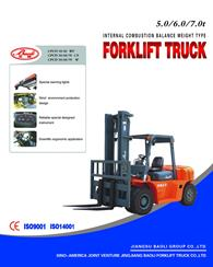 5.0 to 7.0ton Engine Forklift
