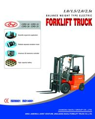Battery Counter Balance Forklift